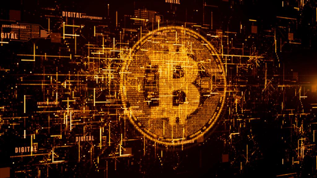 Imagen de la representación de Bitcoin